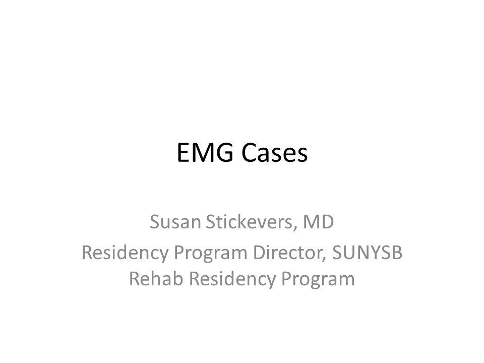 Residency Program Director, SUNYSB Rehab Residency Program