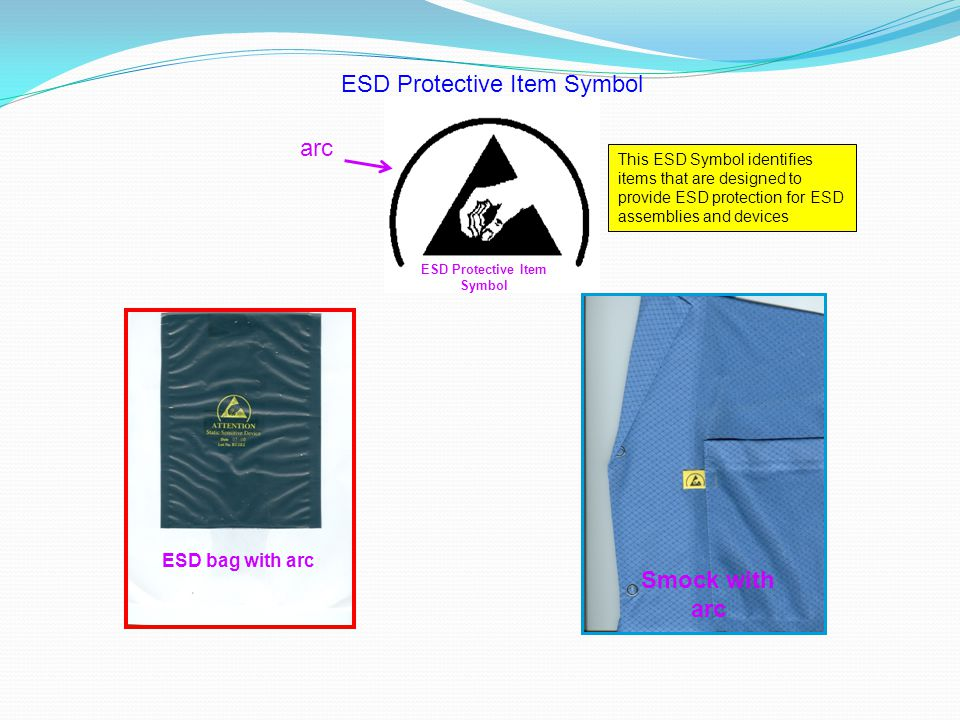 ESD Protective Item Symbol