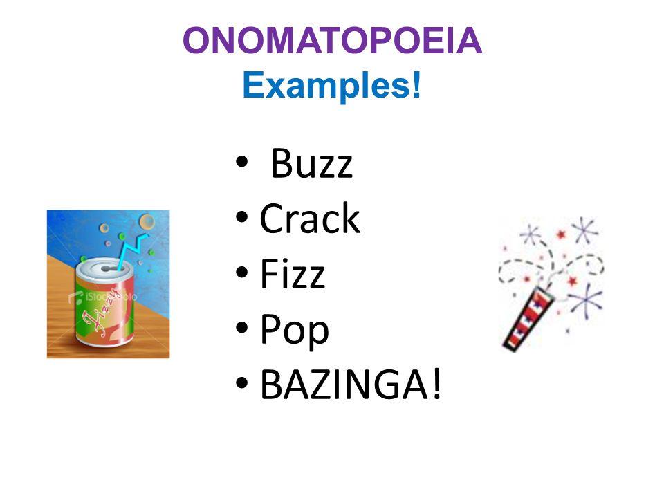 ONOMATOPOEIA Examples!