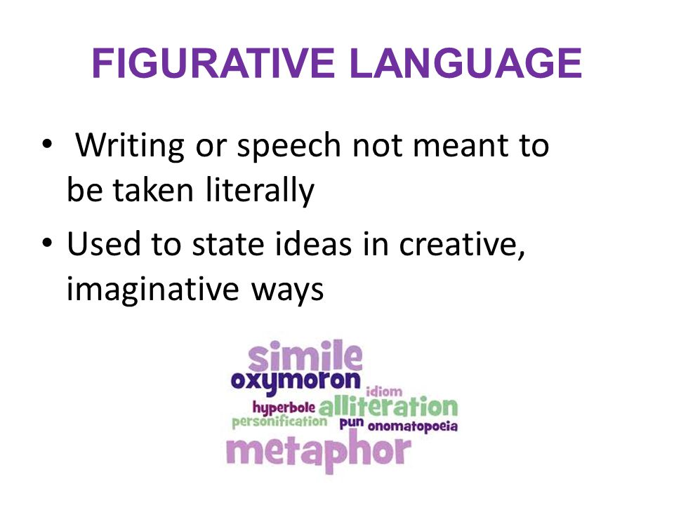 figurative language terms Keywords: poetry, mentor text, florida, figurative language, tone, elizabeth  bishop  a powerpoint with targeted figurative language terms, definitions, and.