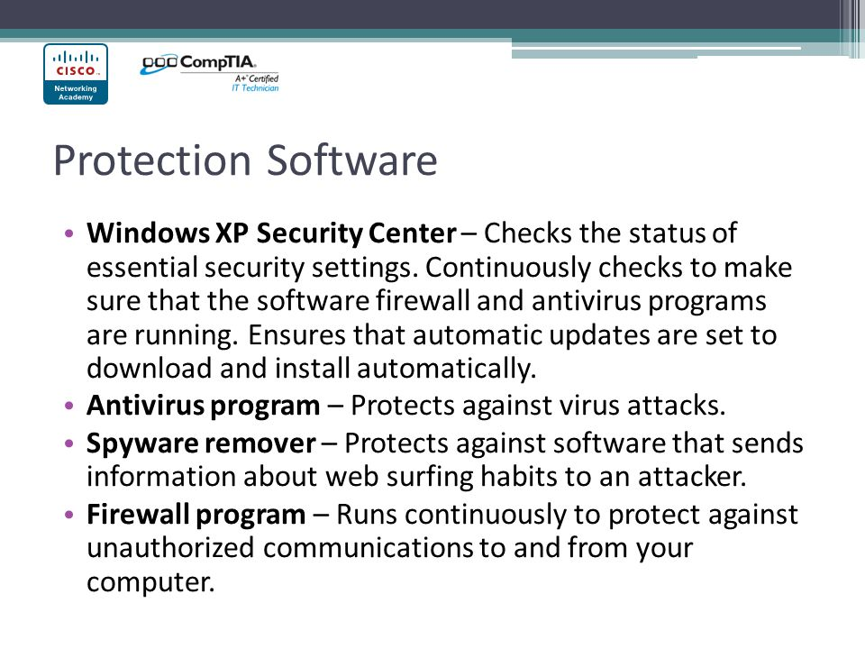 Protection Software