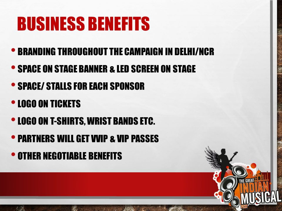 BUSINESS BENEFITS BRANDING THROUGHOUT THE CAMPAIGN IN DELHI/NCR