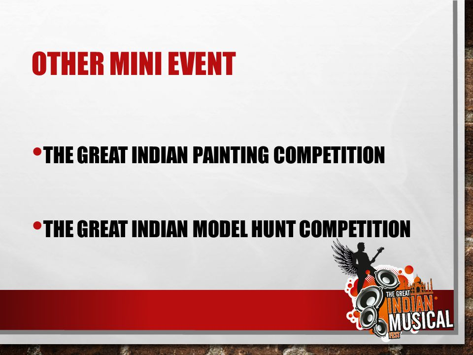 Other Mini Event The great Indian Painting Competition
