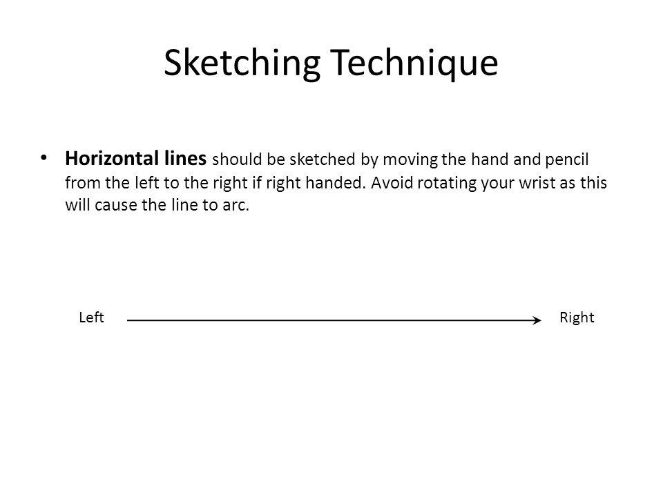 Sketching Technique