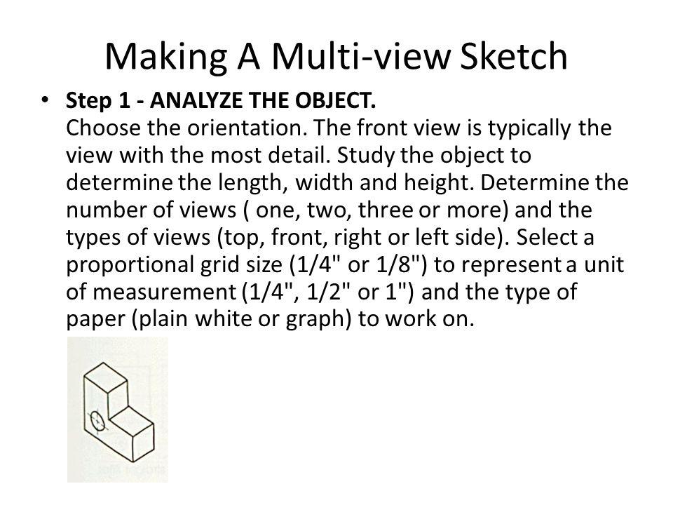 Making A Multi-view Sketch