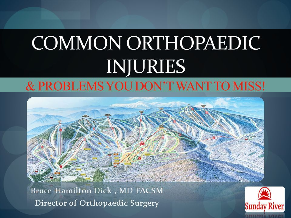 Common Orthopaedic Injuries & problems You Don't Want to Miss!