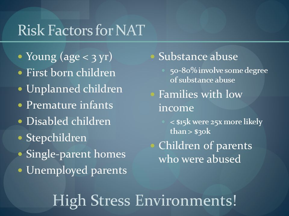 High Stress Environments!
