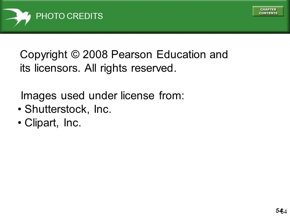 Copyright © 2008 Pearson Education and