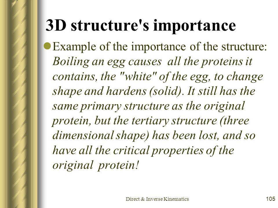 3D structure s importance