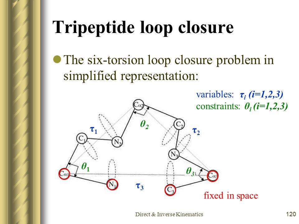 Tripeptide loop closure