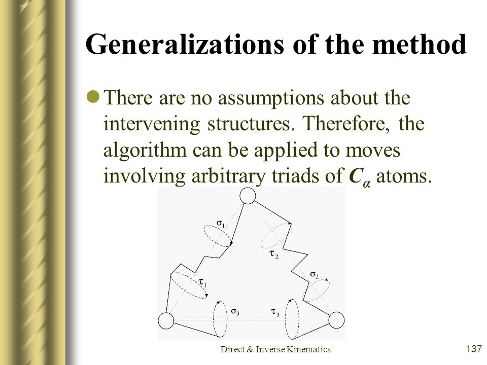 Generalizations of the method