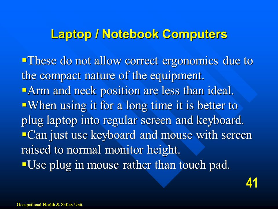 Laptop / Notebook Computers