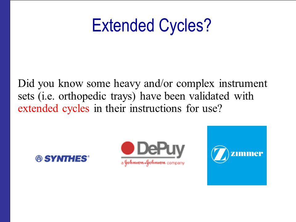 Extended Cycles