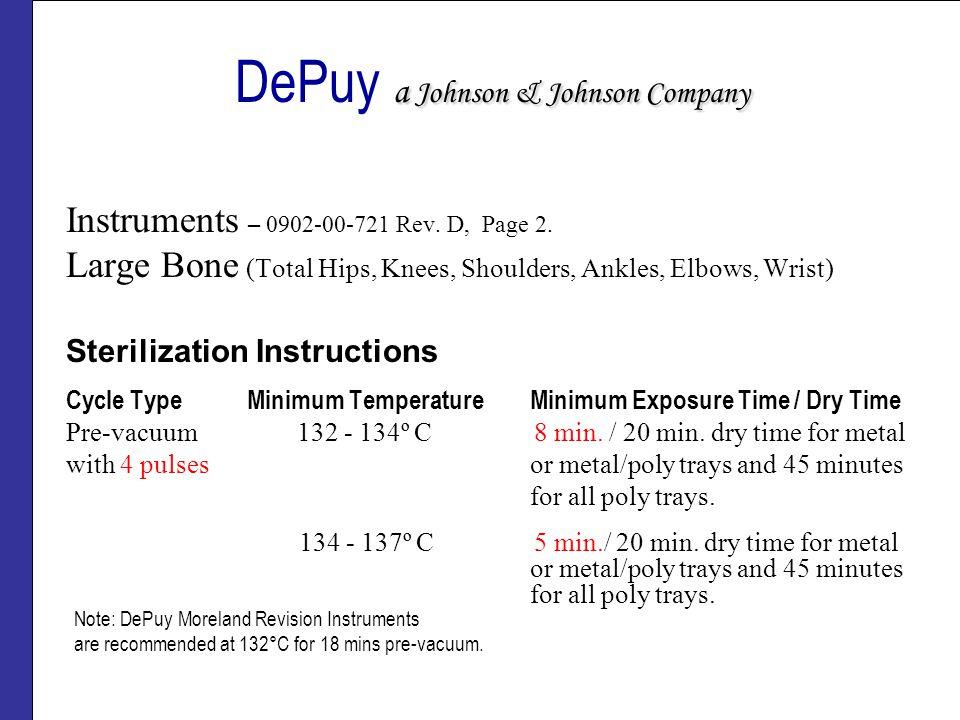 DePuy a Johnson & Johnson Company