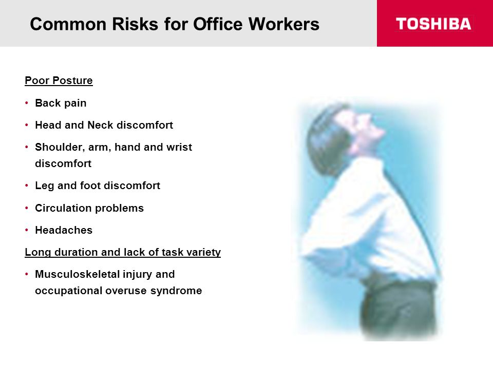 Common Risks for Office Workers