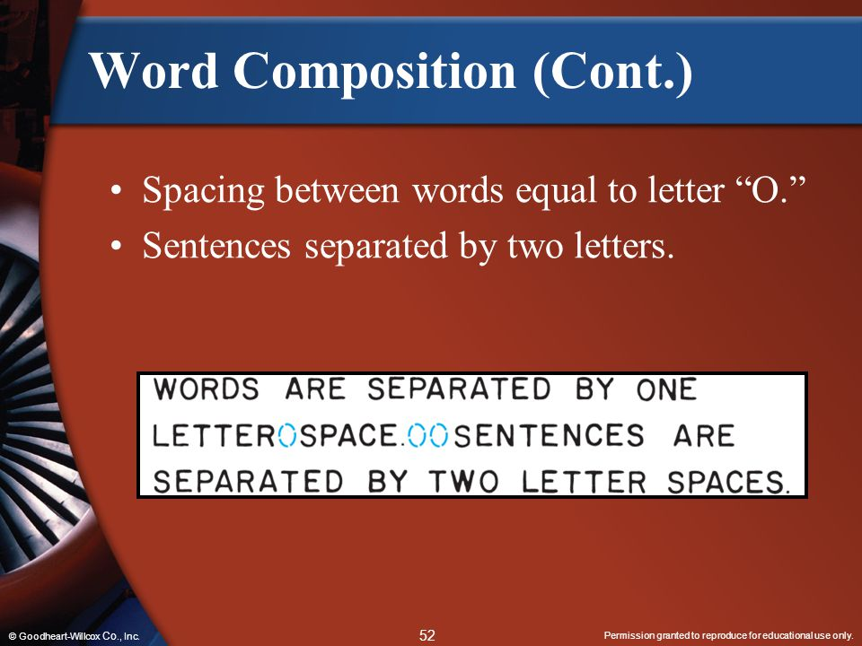 Word Composition (Cont.)