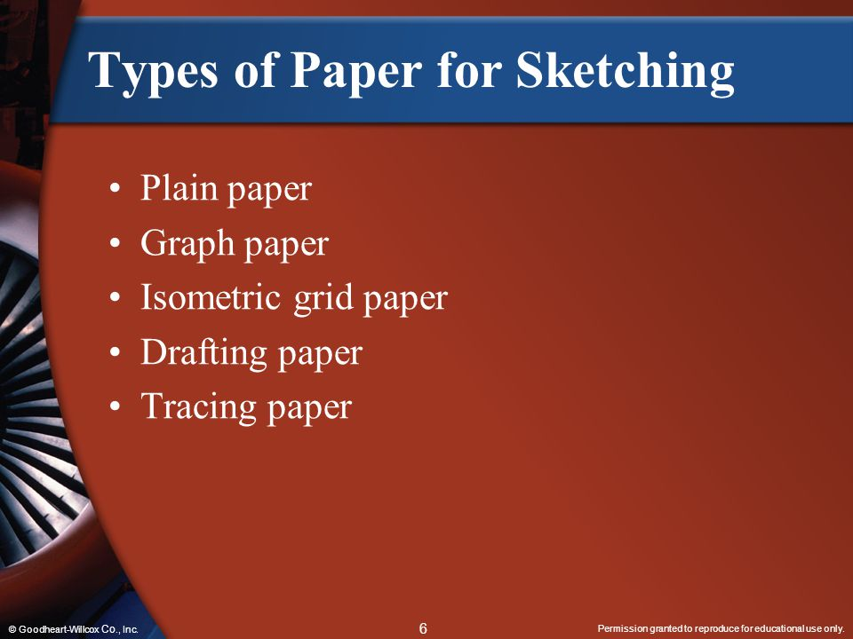 Types of Paper for Sketching
