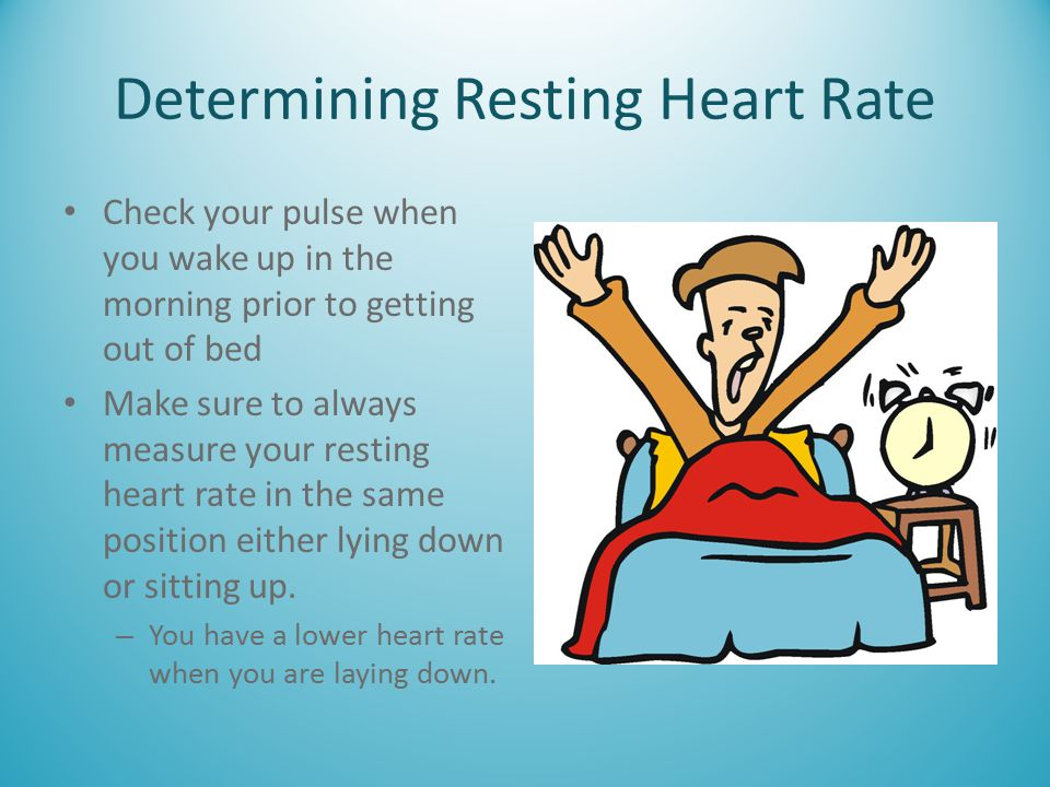 Determining Resting Heart Rate