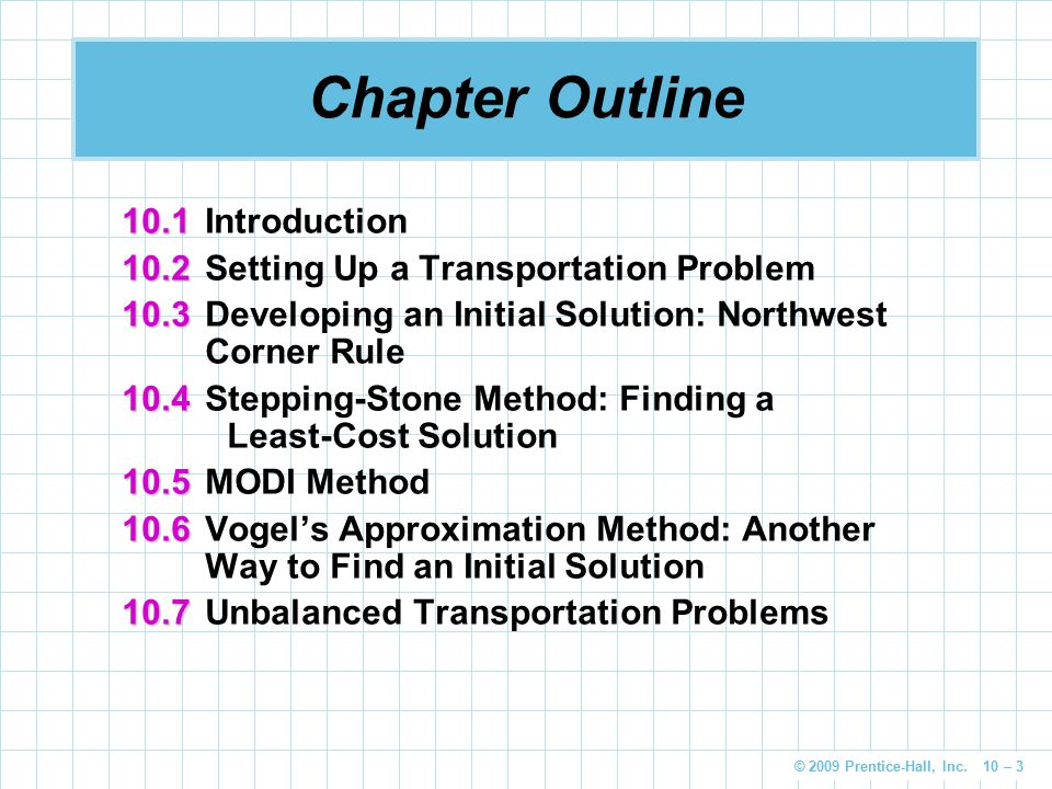 Chapter Outline 10.1 Introduction