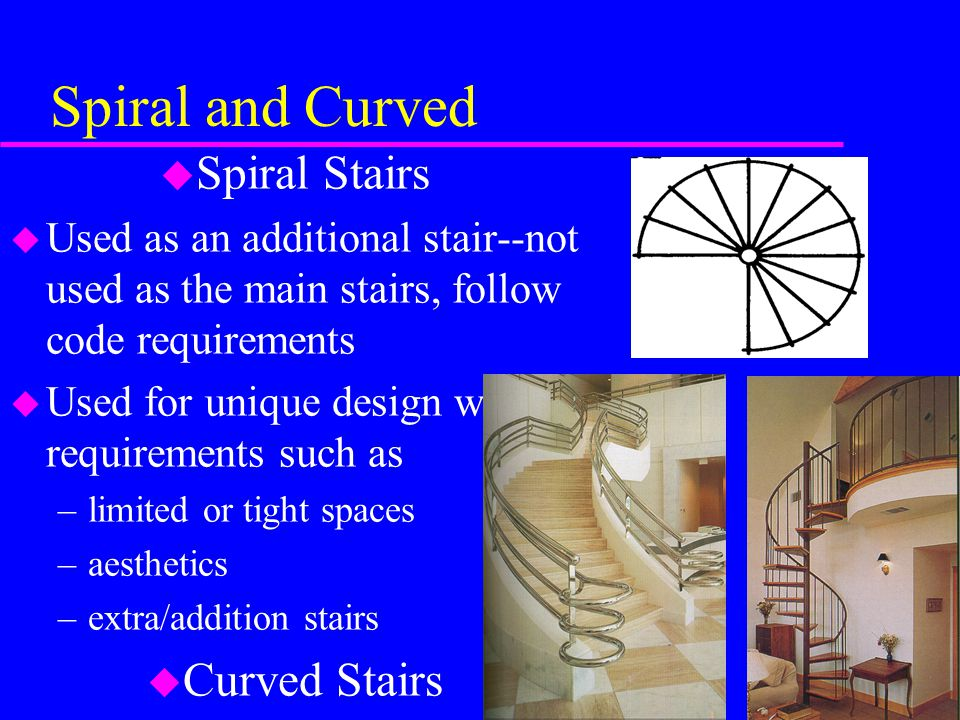 Spiral and Curved Spiral Stairs Curved Stairs