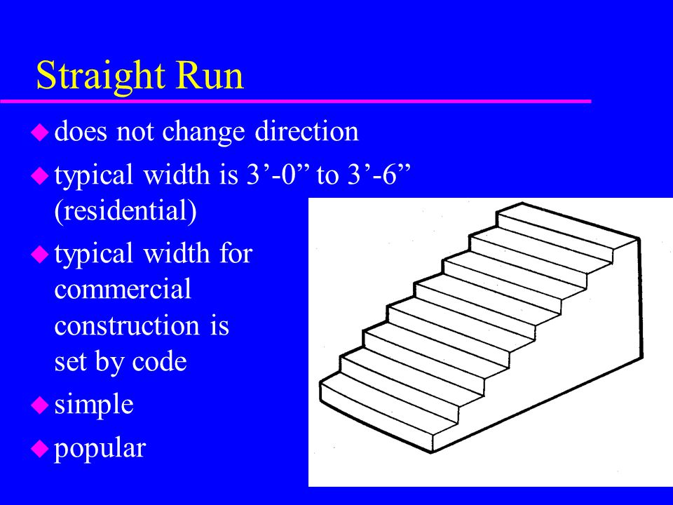 Straight Run does not change direction