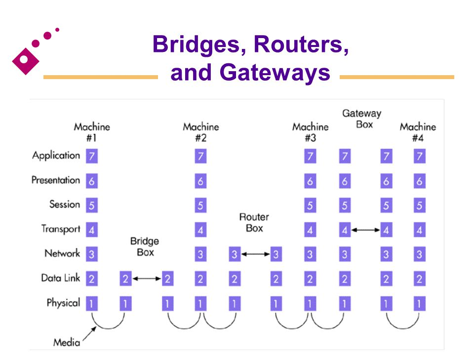 Bridges, Routers, and Gateways