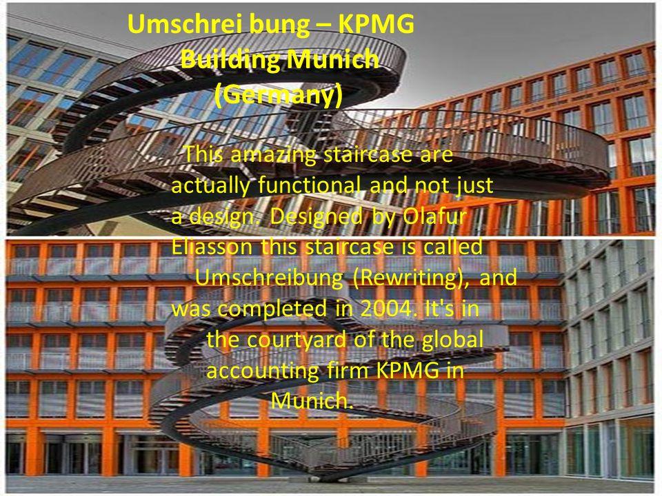 Umschrei bung – KPMG Building Munich (Germany)