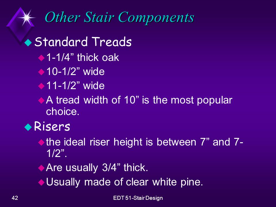 Other Stair Components