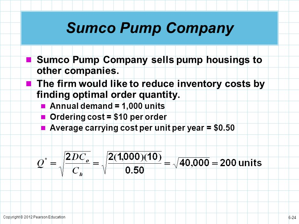 Sumco Pump Company Sumco Pump Company sells pump housings to other companies.