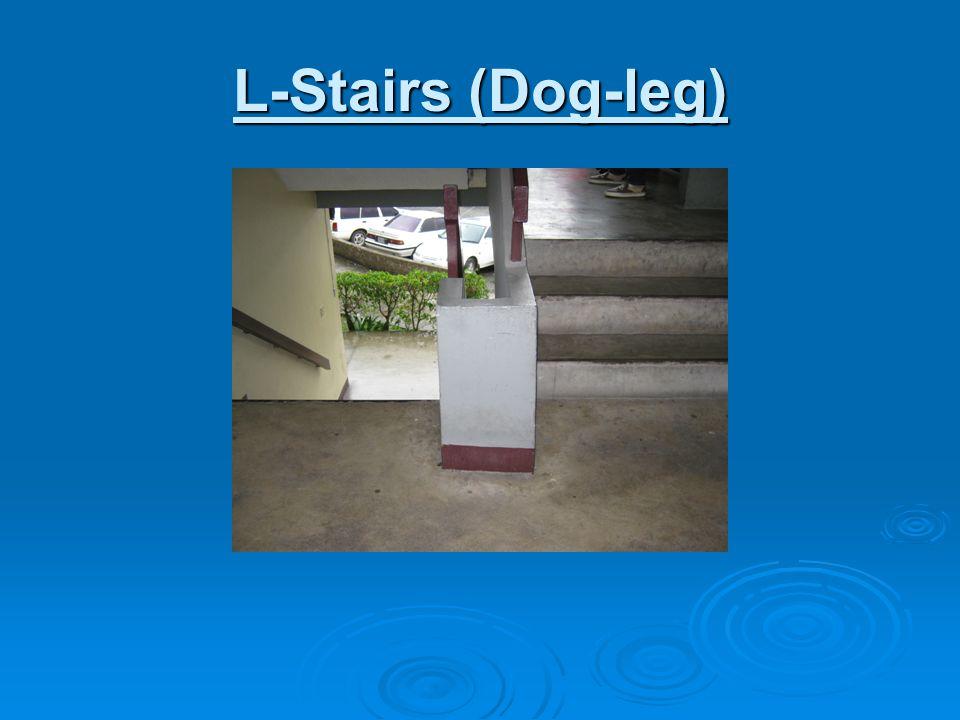 L-Stairs (Dog-leg)
