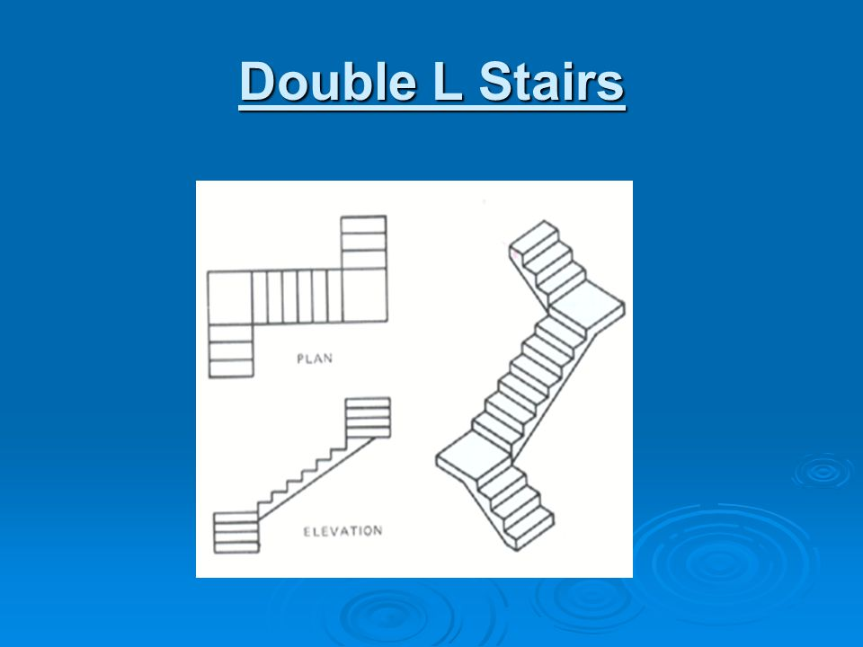 Double L Stairs