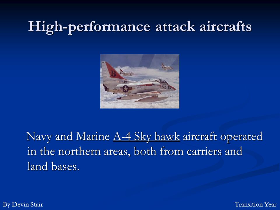 High-performance attack aircrafts