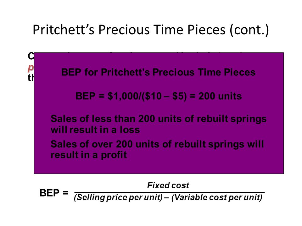 Pritchett's Precious Time Pieces (cont.)