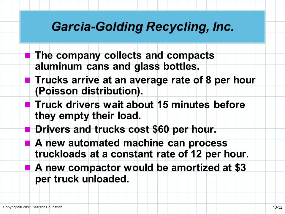 Garcia-Golding Recycling, Inc.