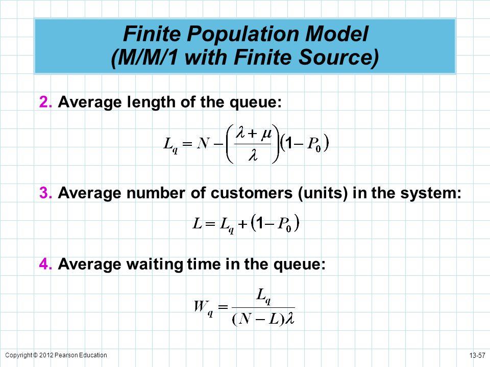 Finite Population Model (M/M/1 with Finite Source)