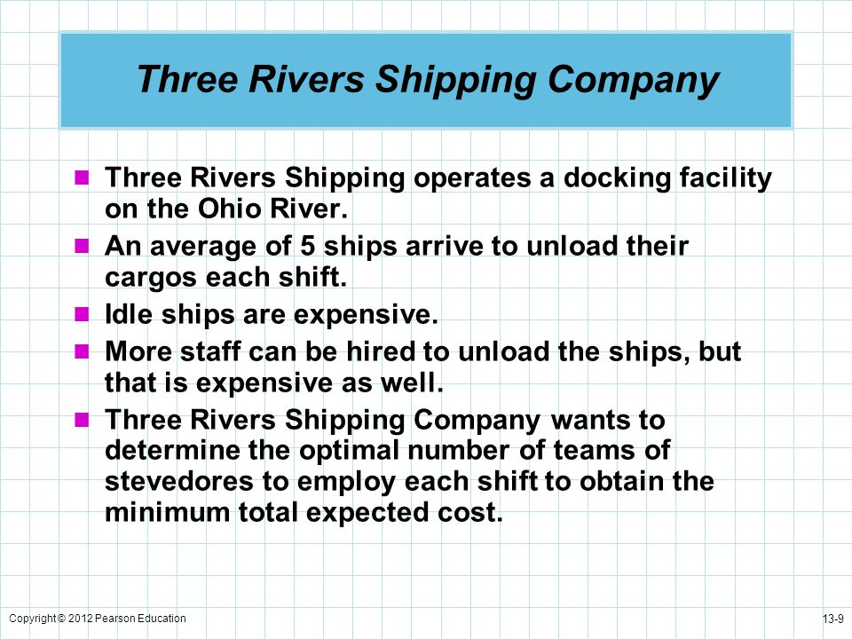 Three Rivers Shipping Company
