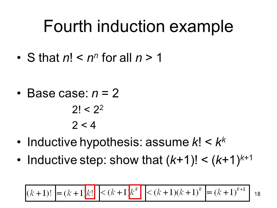 Fourth induction example