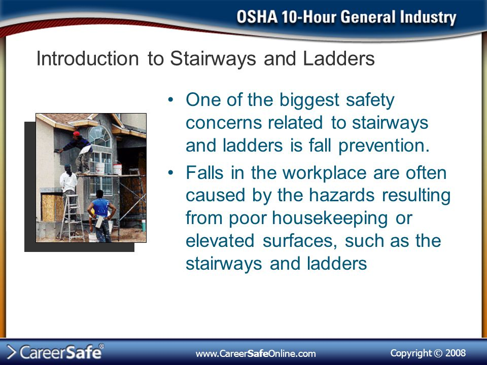 Introduction to Stairways and Ladders