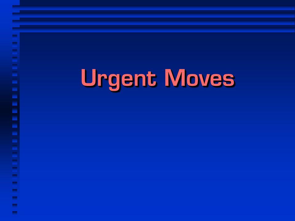 Urgent Moves 1