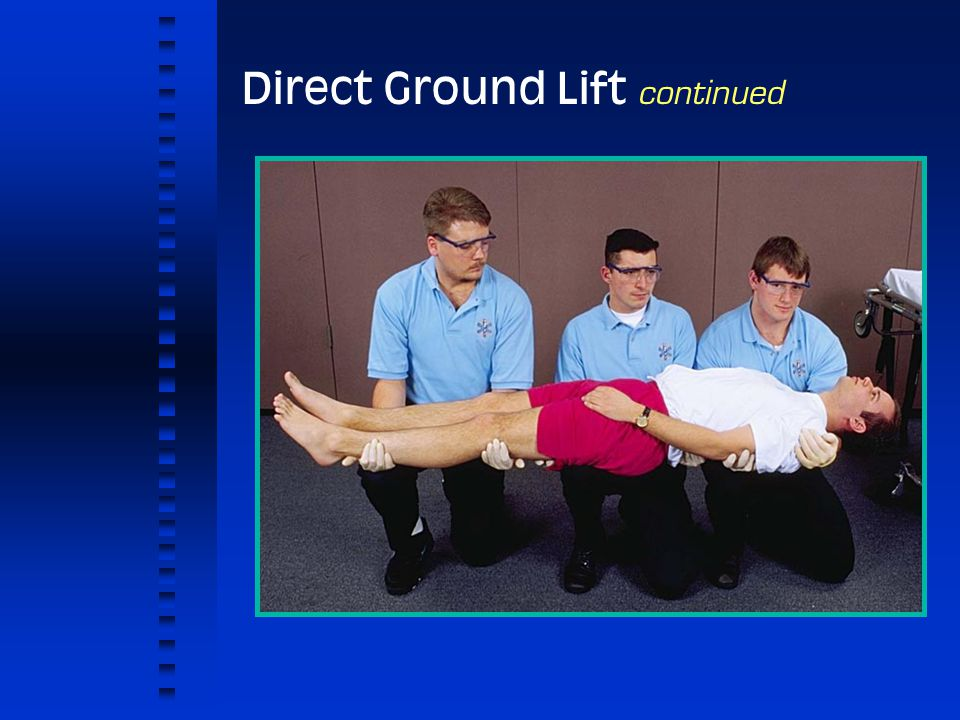 Direct Ground Lift continued