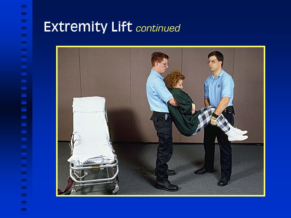 Extremity Lift continued