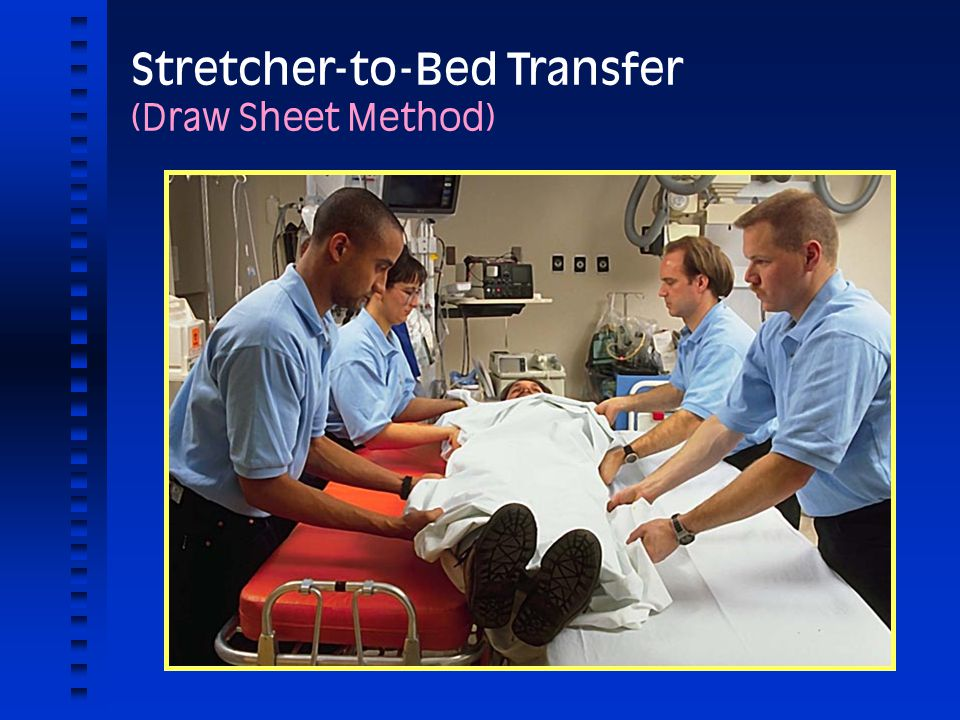 Stretcher-to-Bed Transfer