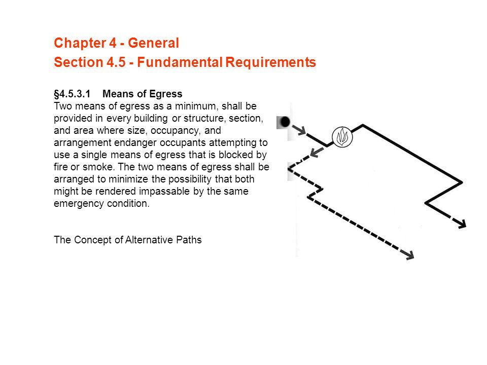 Section 4.5 - Fundamental Requirements