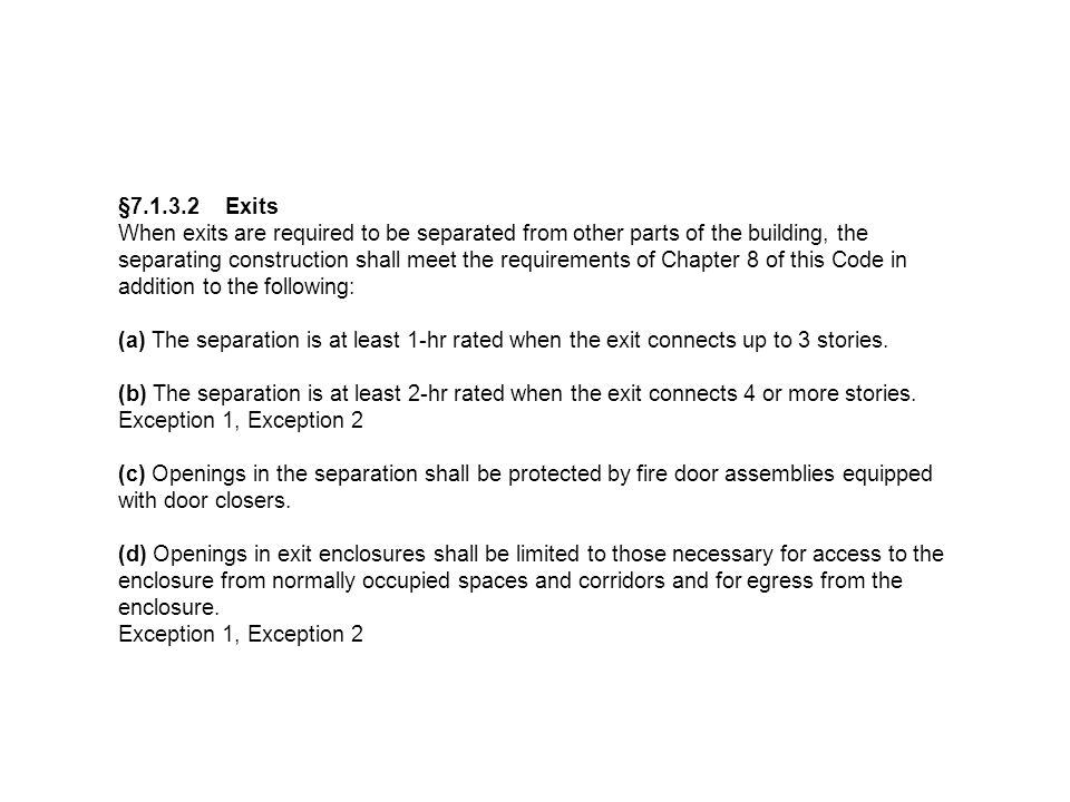 §7.1.3.2 Exits