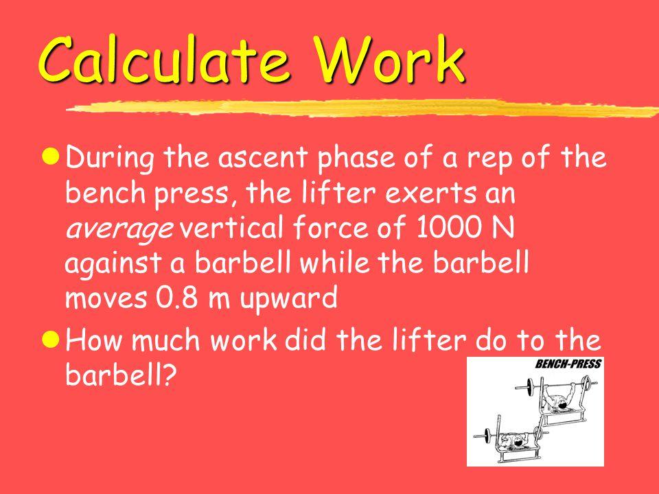 Calculate Work