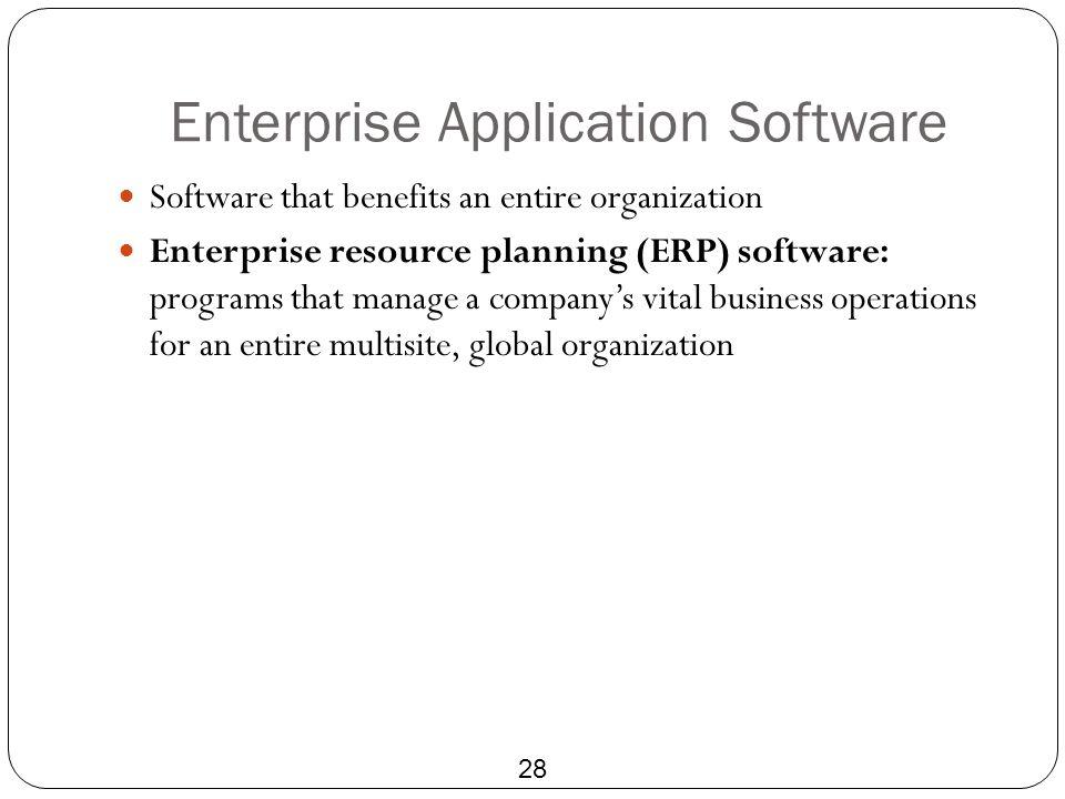 Enterprise Application Software