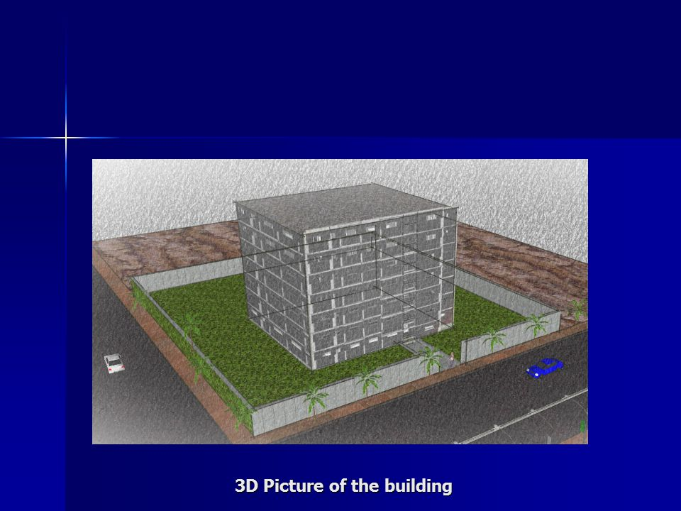 3D Picture of the building
