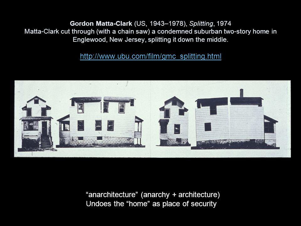 anarchitecture (anarchy + architecture)