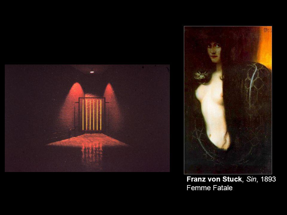Franz von Stuck, Sin, 1893 Femme Fatale