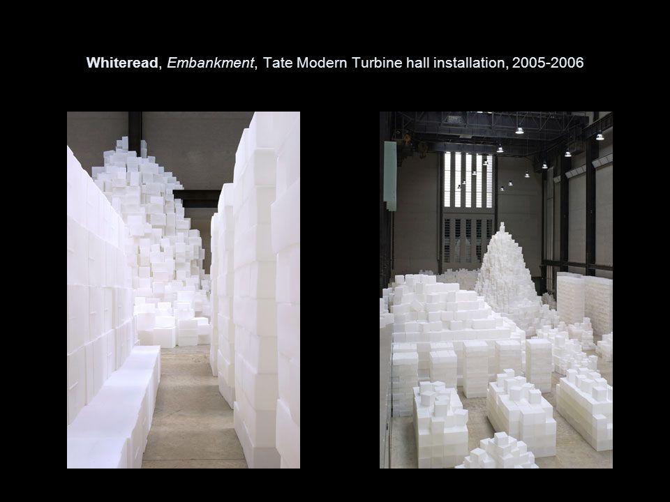 Whiteread, Embankment, Tate Modern Turbine hall installation, 2005-2006